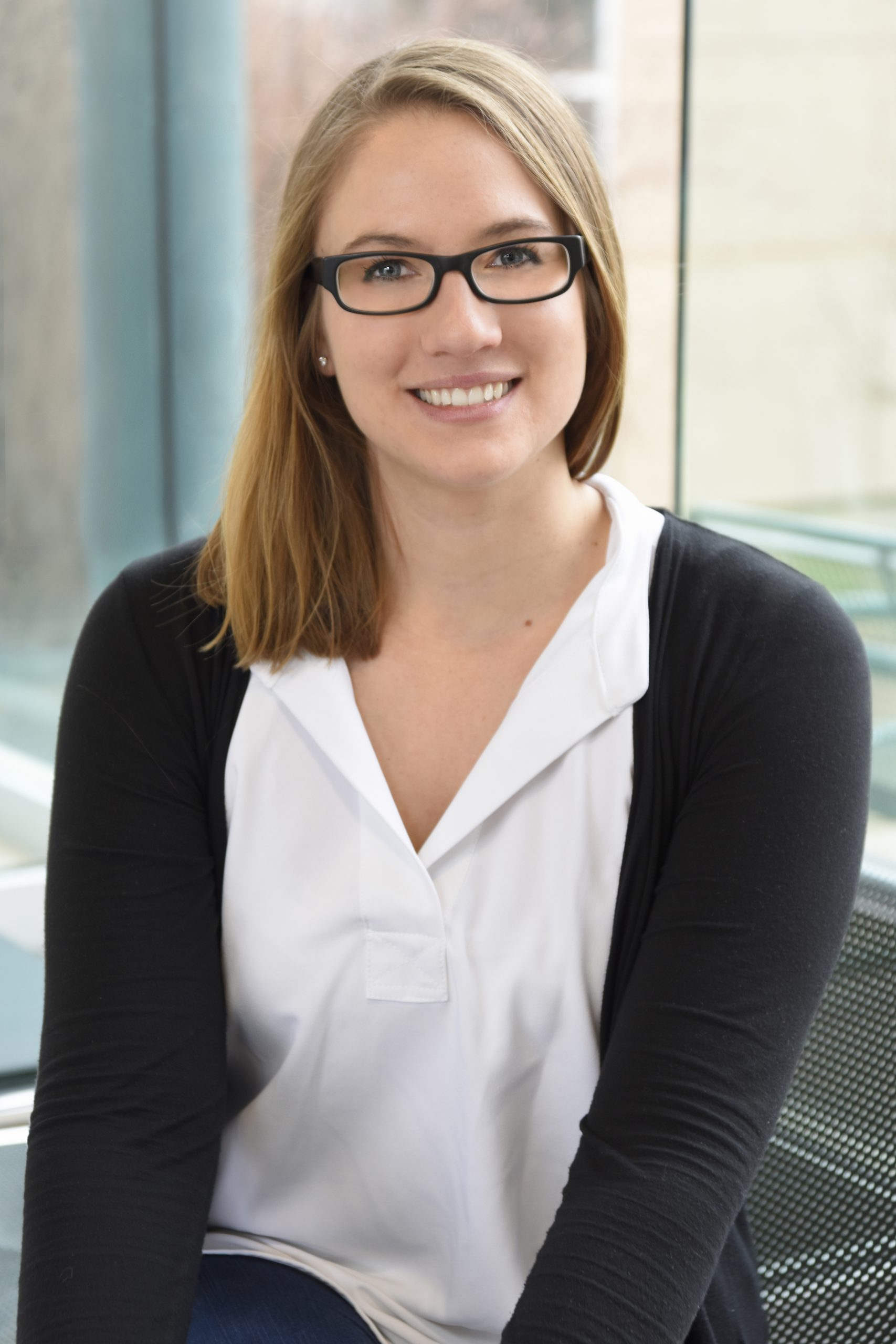 Psychology assistant professor Kaila Bruer received an NSERC Discovery Grant. (U of R Photography)