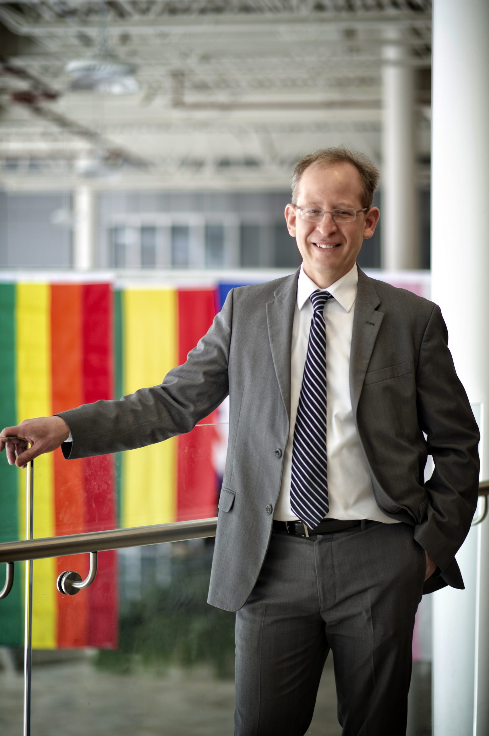 Dr. Jeff Keshen is the U of R's eighth president and vice-chancellor. (Photo courtesy of Grenfell Campus)