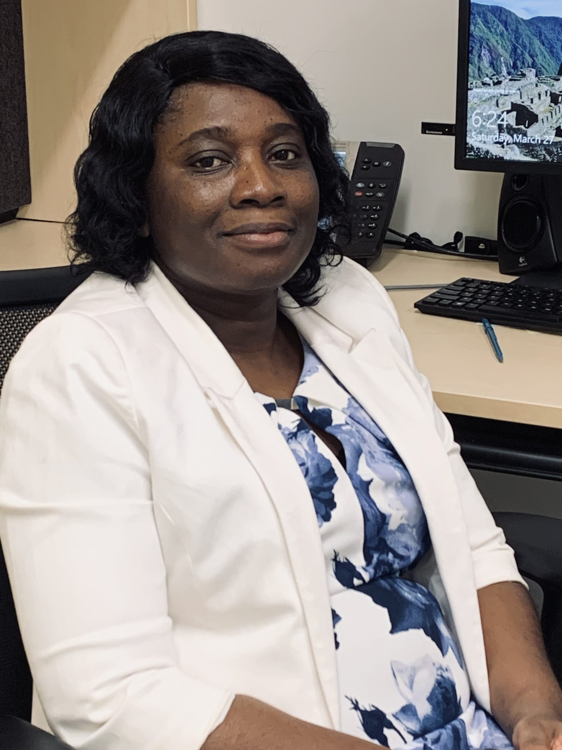 Vivian Puplampu is assistant professor in the Faculty of Nursing. (photo by Grace Puplampu)